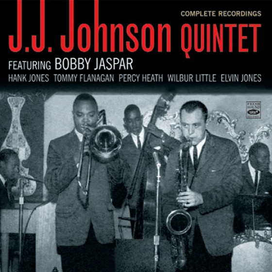 J.J. Johnson Quintet Featuring Bobby Jaspar · Complete Recordings (2-CD)