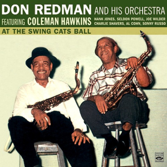 At the Swing Cats Ball · Featuring Coleman Hawkins
